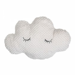 Cirrus sleeping cloud soft touch cushion. Velvet feel.