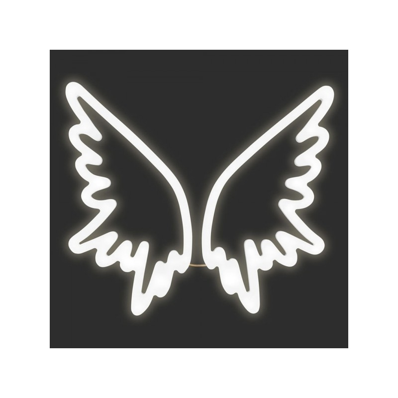 An image of Guardian Angel Wings Neon Light - Discontinued