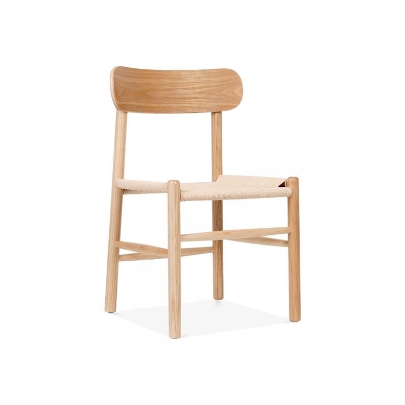 Scandinavian Inspired Wooden Dining Chair Lernvig