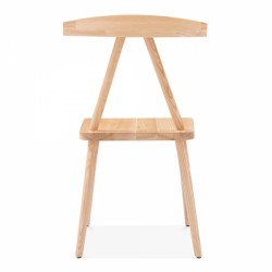 minimalist wooden dining chair in natural 5