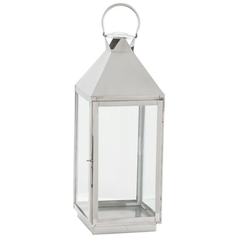 An image of Fuego Lantern - Height 70cm x Width 24cm x Depth 23cm