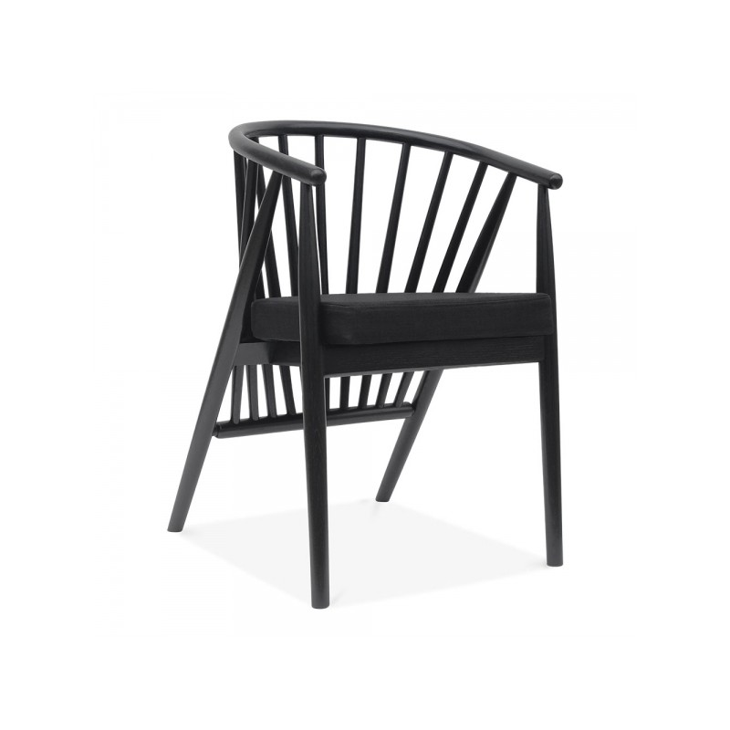 Danish Wooden Dining Armchair Bronco