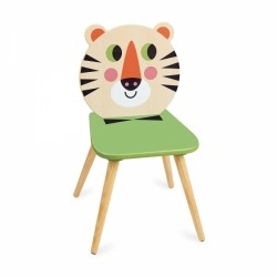 Tyler Tiger kids wooden chair