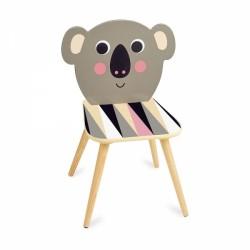 Kay Koala wooden kids chair