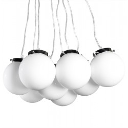 Bolas Hanging Lamps Front on White