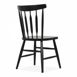 windsor style traditional wooden dining chair bennett