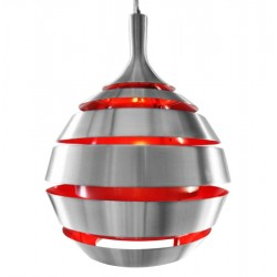Hale Hanging Lamp Red Front