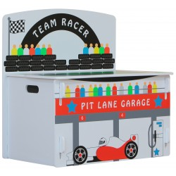 Playbox racer F1 brightly coloured painted finish. Easily slots together.