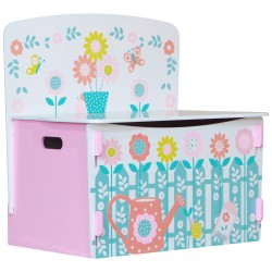 Country cottage playbox. Durable paint finish with no sharp edges.