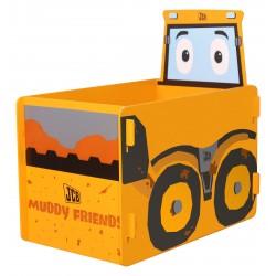 JCB Muddy friends toy box. Slots together.