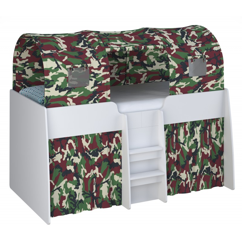 3 Parts Camouflage Tent That Goes With The Loft Station Cabin Bed