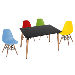 Eames inspired DSW dining set