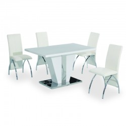 Rosberg four person dining set