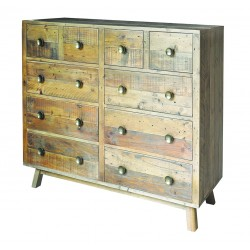 An image of Fullbrook Reclaimed Wood Large Chest of Drawers