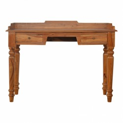 An image of Kolding Wood Gallery Back Writing Desk