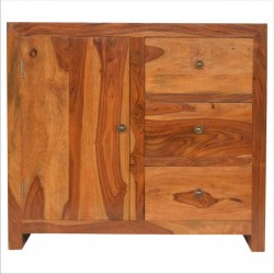 An image of Kolding Three Drawer One Shelf Sideboard
