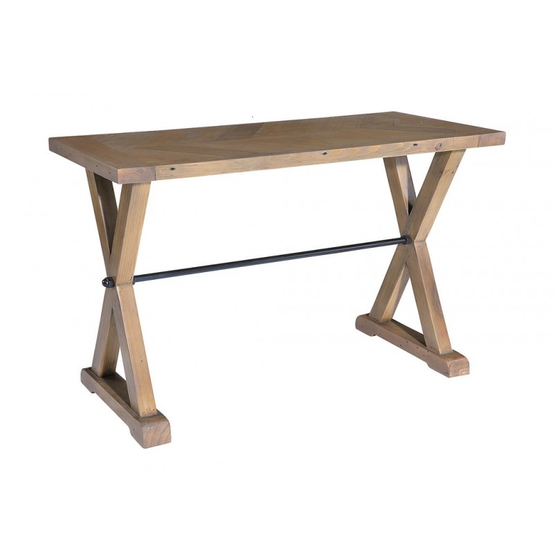 outlet store 596f8 e80e1 Parquet Reclaimed Pine Console Table | Bedford