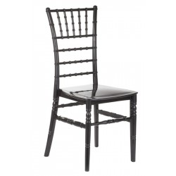 Seville Thermoplastic Dining Chairs Black