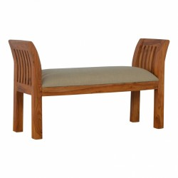 Kolding Upholstered Bench Full view