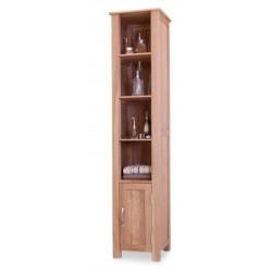 Tall Oak 4 Shelf Bathroom Unit Teramo