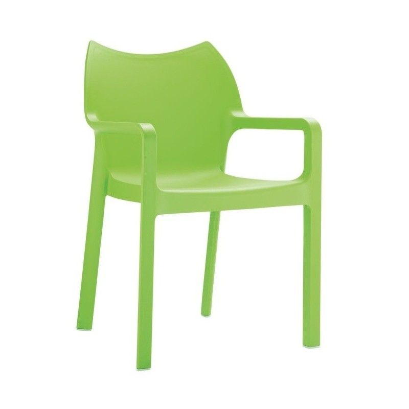 Monty Lime green armchair