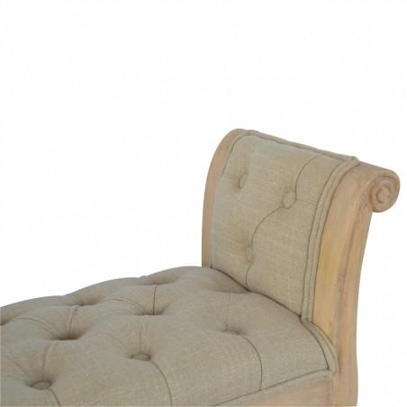 Upholstered mud fabric