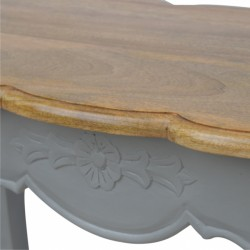 Binoche French style Bench Rose detail