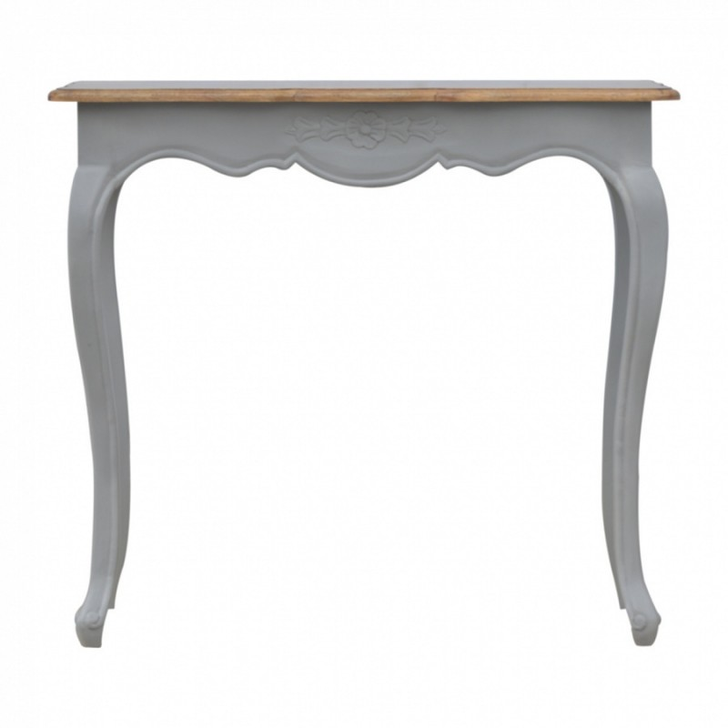 Binoche French Style Console Table Front View