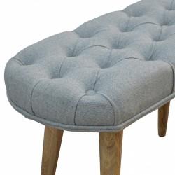 Grey tweed seat
