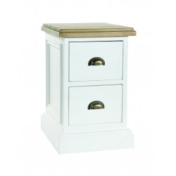 An image of Winslow Hand Painted 2 Drawer Storage Unit