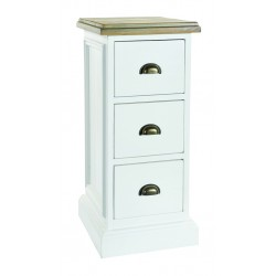 An image of Winslow Hand Painted 3 Drawer Storage Unit