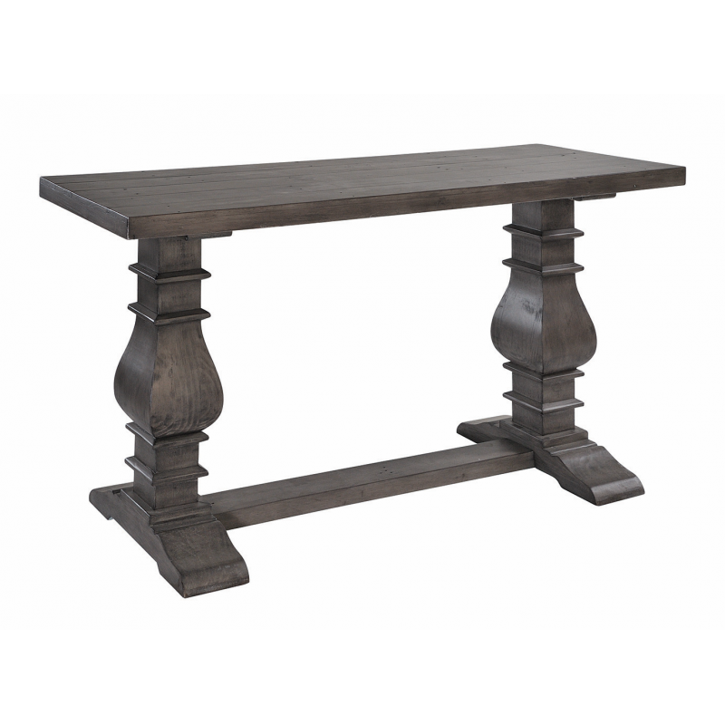 Dark Wood Hallway Console Table