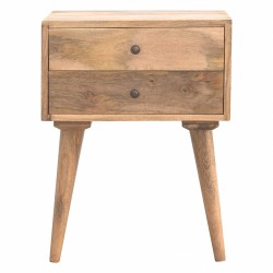 Karlstad Two Drawer Bedside...