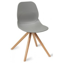 Sligo Dining Chair - Pyramid Legs - grey