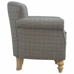 Brampton Tweed Armchair Side
