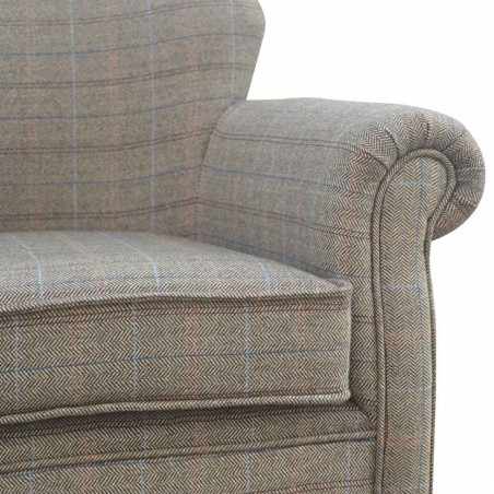 Brampton Tweed Armchair Detail