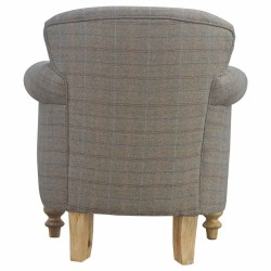 Brampton Tweed Armchair Back