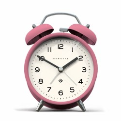 An image of Newgate Charlie Bell Echo Alarm Clock Pink