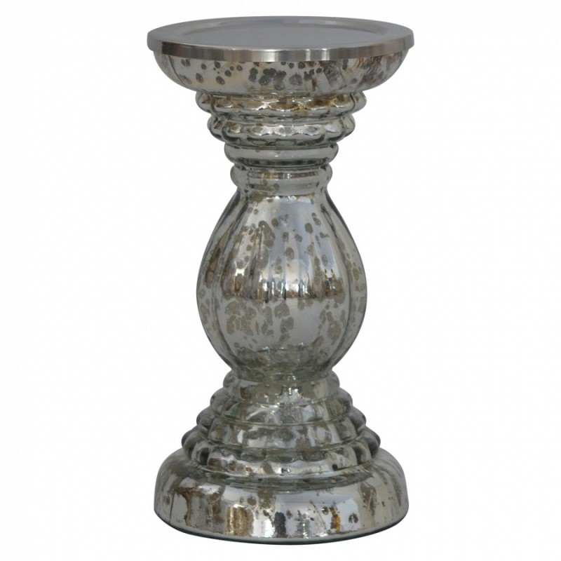An image of Darrieux Vintage Glass Candle Stand