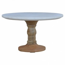 Full marble cake stand