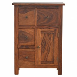 An image of Holt Four Drawer One Door Cabinet
