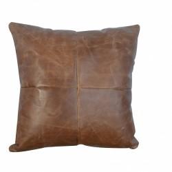 Buffalo hide cushion