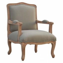 Cappa French Style Armchair Left Angle
