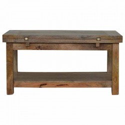 Cappa Coffee Table with 1 Shelf Front