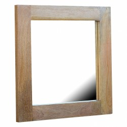 Cappa Square Mirror Frame Left Angle