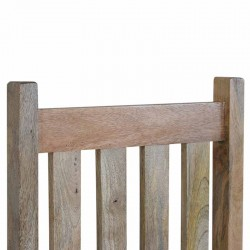 Cappa Country Chair Set Of 2 Seat Back Detail