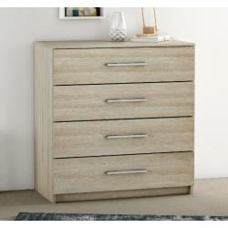 light oak 4 drawer chest of drawers