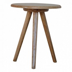 Cappa Round Tripod Table Front