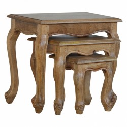 Cappa French Style Stool Set Left Angle