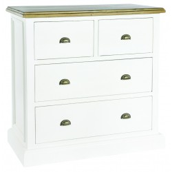 An image of Winslow Hand Painted 4 Drawer Chest of Drawers